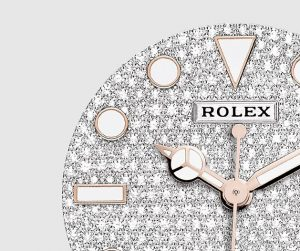 the 37 mm replica Rolex Yacht-Master 37 268655 watches have diamond-paved dials.