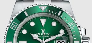 The sturdy copy Rolex Submariner 116610LV watches are made from Oystersteel.