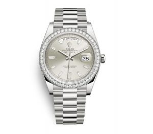 The white gold fake Rolex Day-Date 40 228349RBR watches are worth for you.