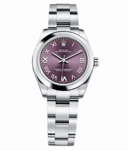The durable replica Rolex Oyster Perpetual 31 177200 watches are made from Oystersteel.