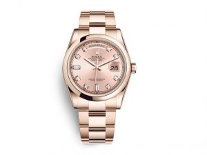 The superb fake Rolex Day-Date 36 118205 watches are worth for females.