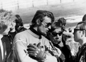 "Jean-Claude Killy wears the retro Rolex Dato-Compax ""Jean-Claude Killy"" watch."