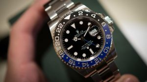 The sturdy copy Rolex GMT-Master II 116710BLNR watches are made from Osytersteel.