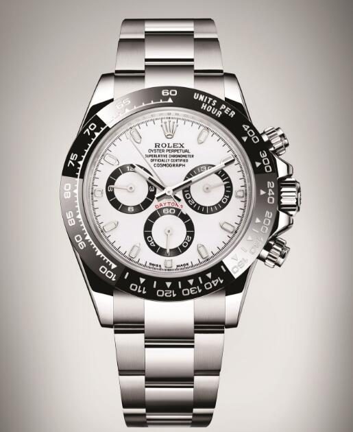 The steel Daytona becomes more and more popular in the watchmaking industry.