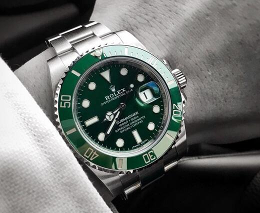 The Rolex Submariner looks fresh and pure.