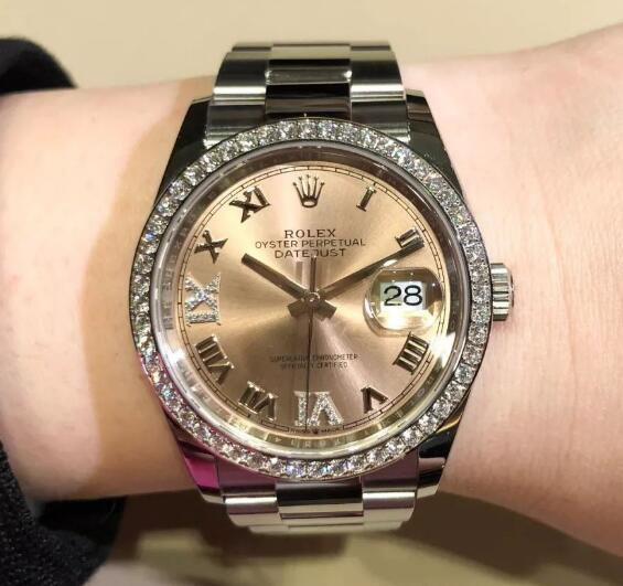 The timepiece has combined all the iconic features of Datejust.
