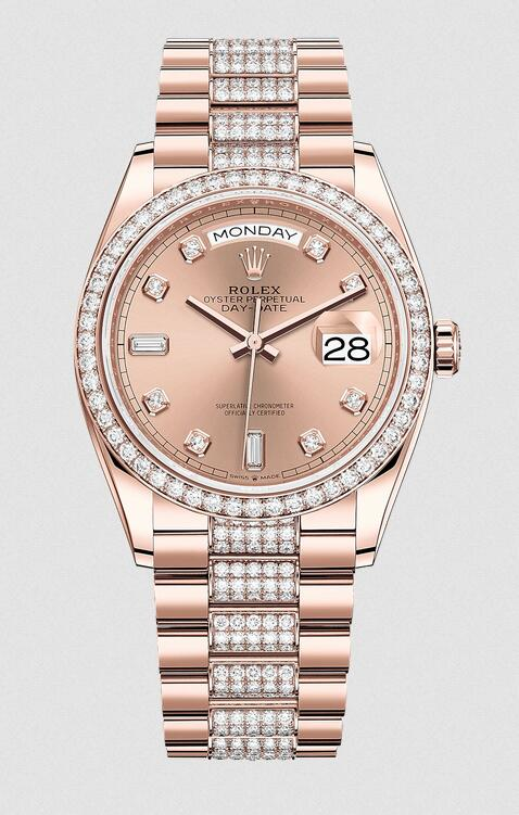 Swiss fake watches are brilliant for the diamonds decorating the dials, bezels and bracelets.